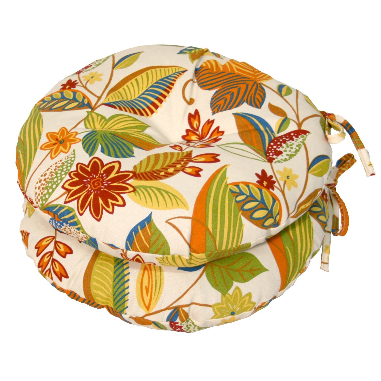 "15"" Round Outdoor Bistro Cushion SET OF 2"