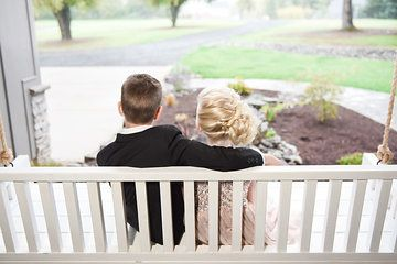 Ring bearer and flower girl Photo from Weddings collection by LundynBridge Events