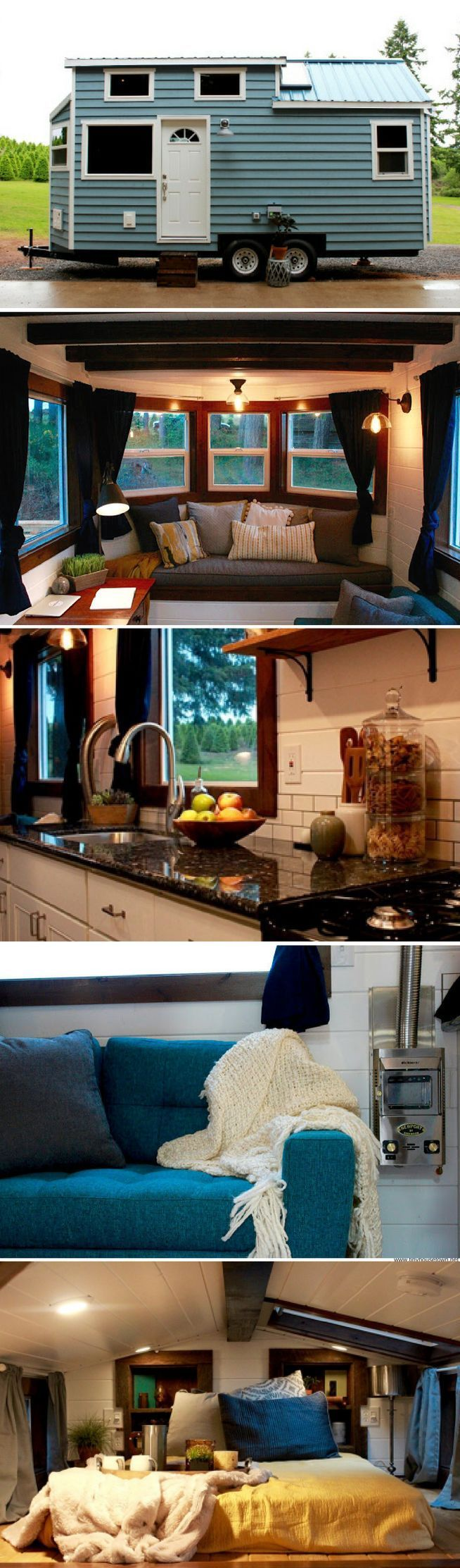 The Sapphire tiny house from Tiny Heirloom | wohnideen | Pinterest ...