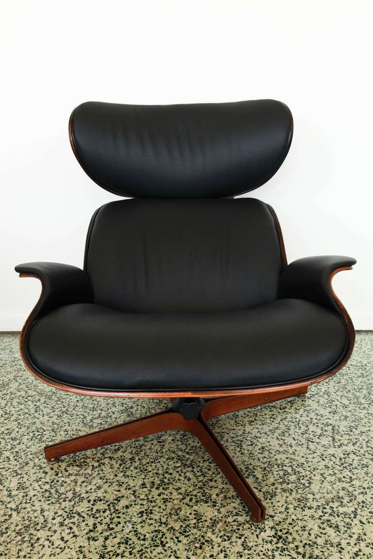 Unique Lounge Chairs mr. chairgeorge mulhauser for plycraft black lounge chair and