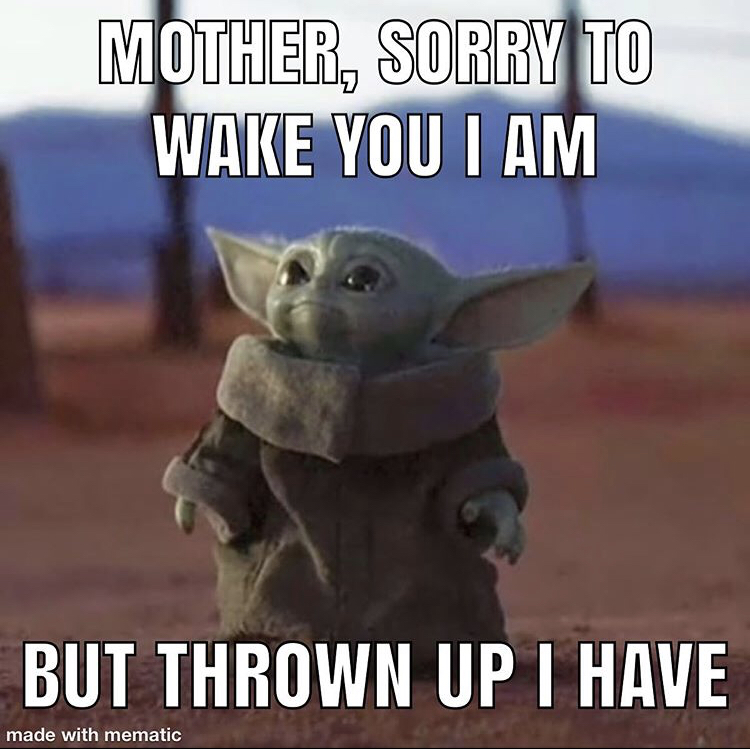 Pin By Greg On Baby Yoda Wallpaper Funny Baby Pictures Funny Babies Yoda Meme
