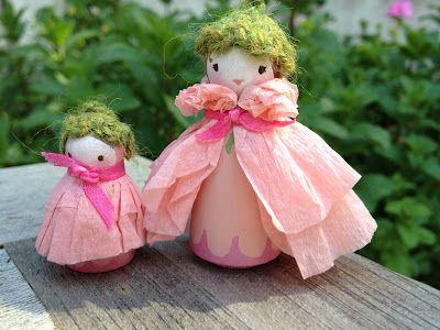 we bloom here: peg doll swap: photo gallery