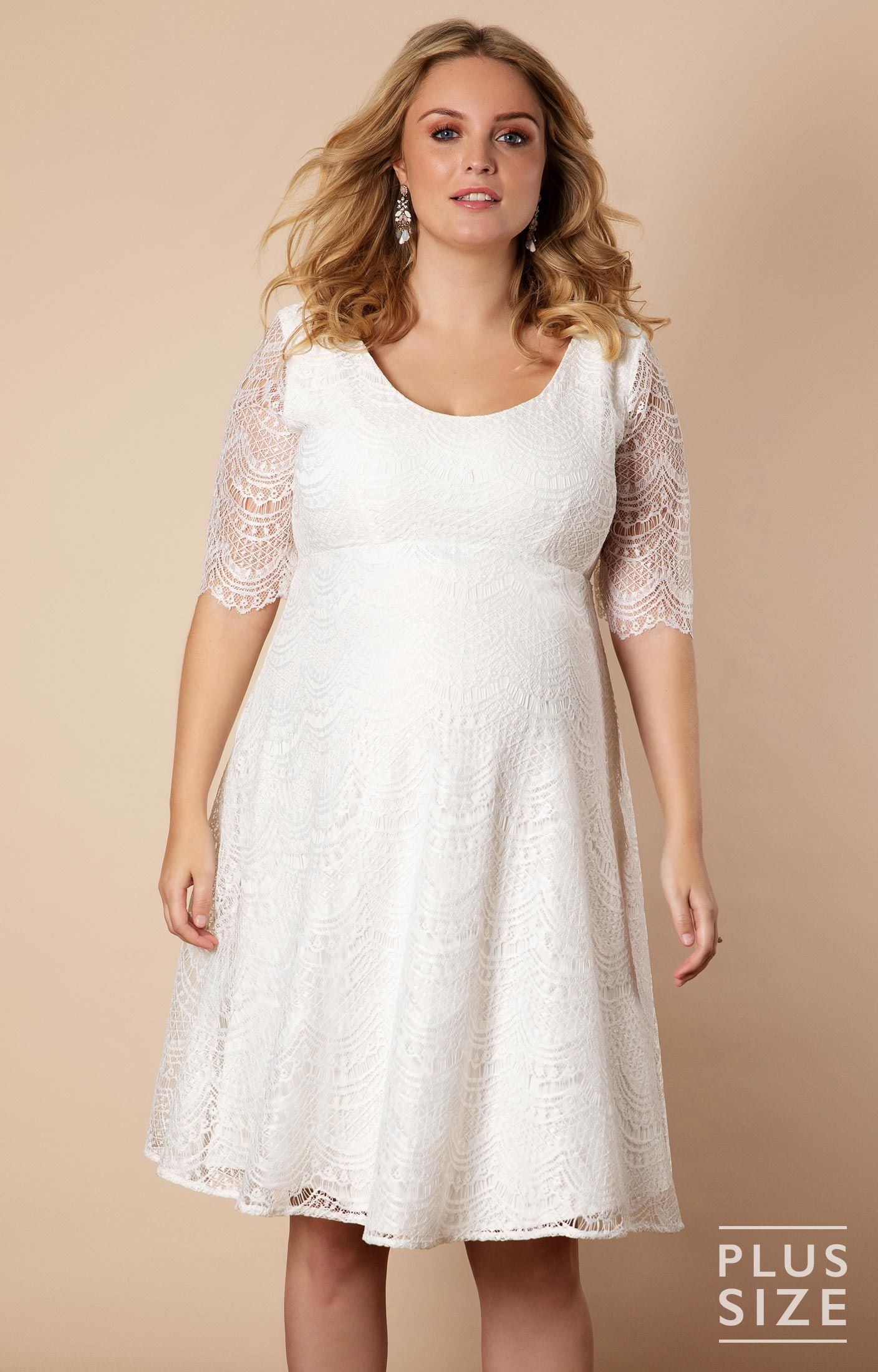 Verona Dress Plus in 2019 | haljine | Pregnant wedding dress ...