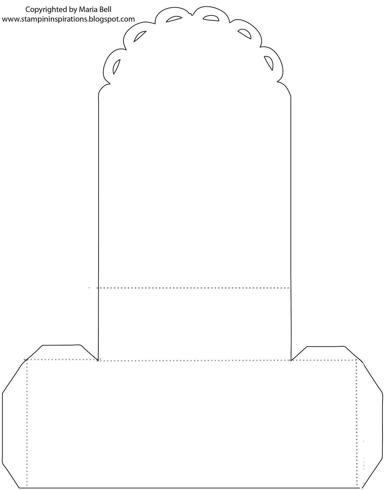 template box | MINIATURE SHOP - PURSE TEMPLATES | Paper ... - photo#14
