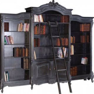 Bookshelf to be painted black to have more modern edge
