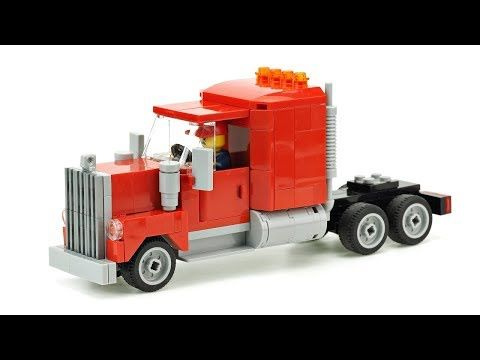 Lego Tractor Belarus Moc Building Instructions Youtube Legos