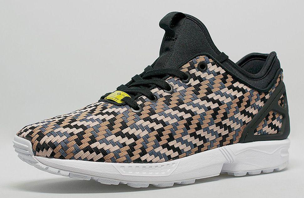 adidas zx flux woven camo