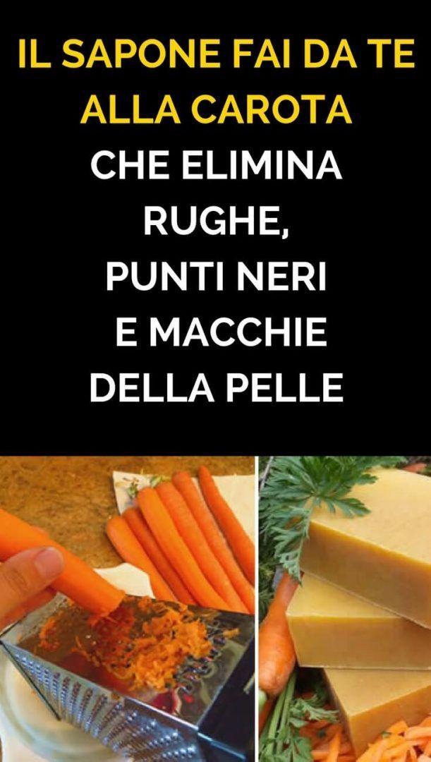 Il sapone fai da te alla carota che elimina rughe, punti neri e macchie della pelle
