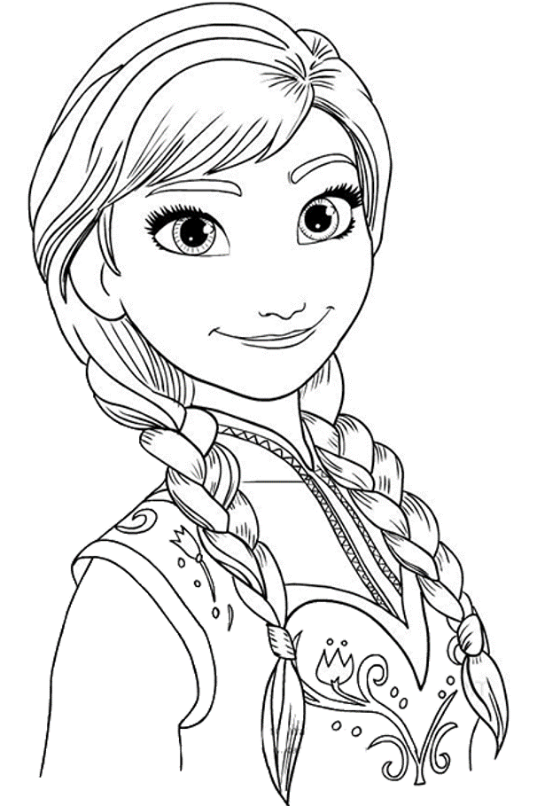 Free printable coloring pages for kids - princess Elsa from the ... | 909x606