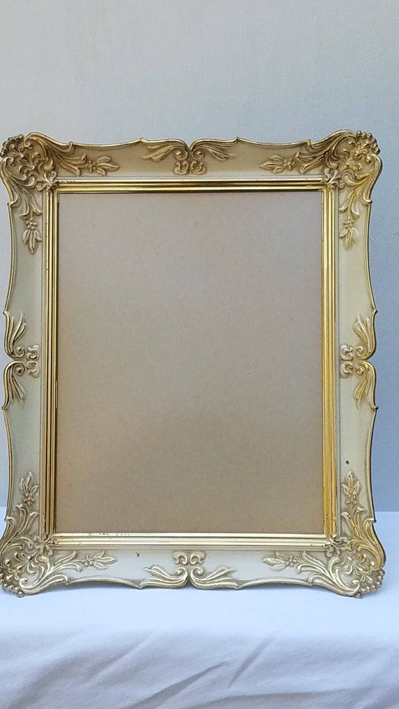 60ac4e70cf81 Large Ornate Gold Picture Frame