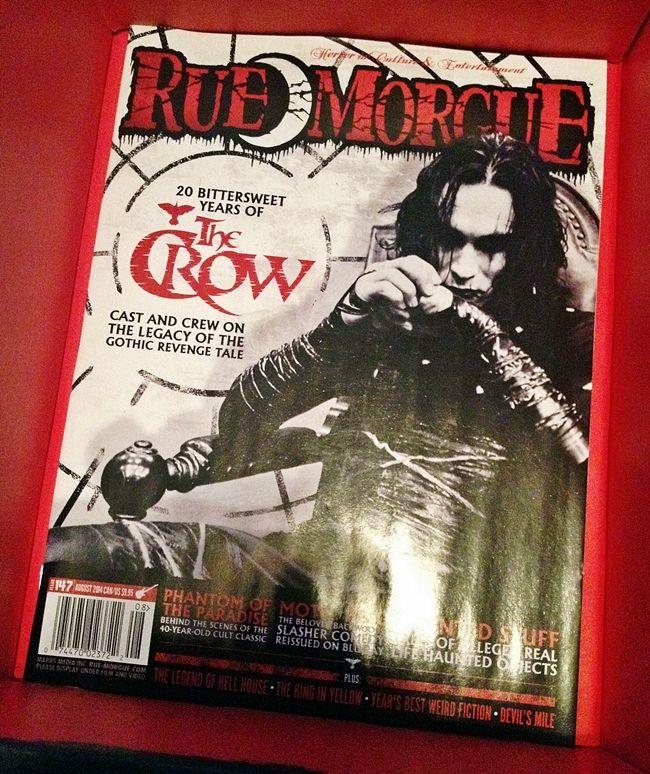 *Any* copy of Rue Morgue magazine from Horror Block