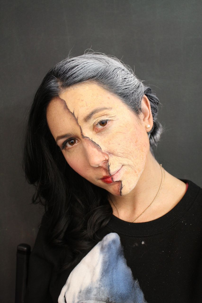 Beauty and Old Age Makeup look by Shanna Moore