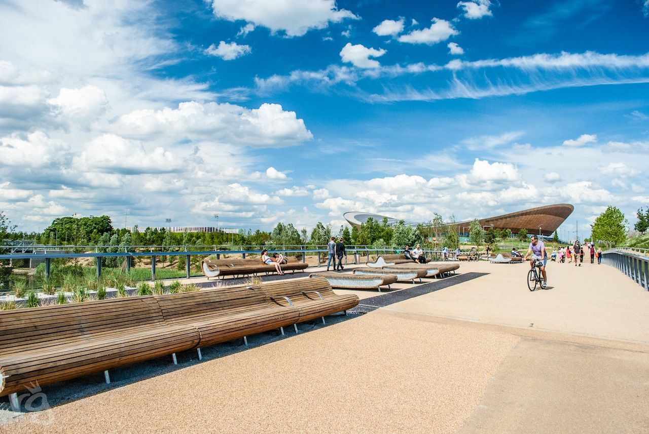 """I just posted """"Queen Elizabeth Olympic Park"""" to Exposure"""