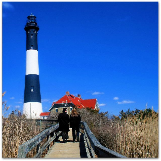 Fire Island Ny: Lighthouse, Fire Island, New York