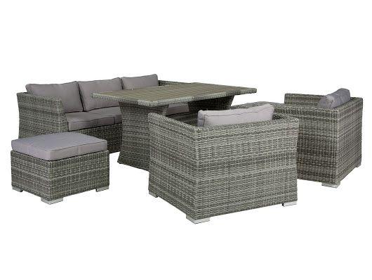 gartenmöbel set grau polyrattan http://www.wohnstatt-otten.de, Garten und erstellen