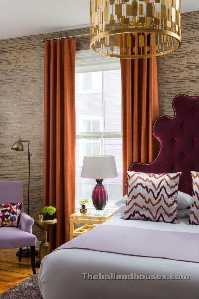 Bedroom Curtains Design Orange Bedroom Curtains  Curtains Design  Pinterest  Orange