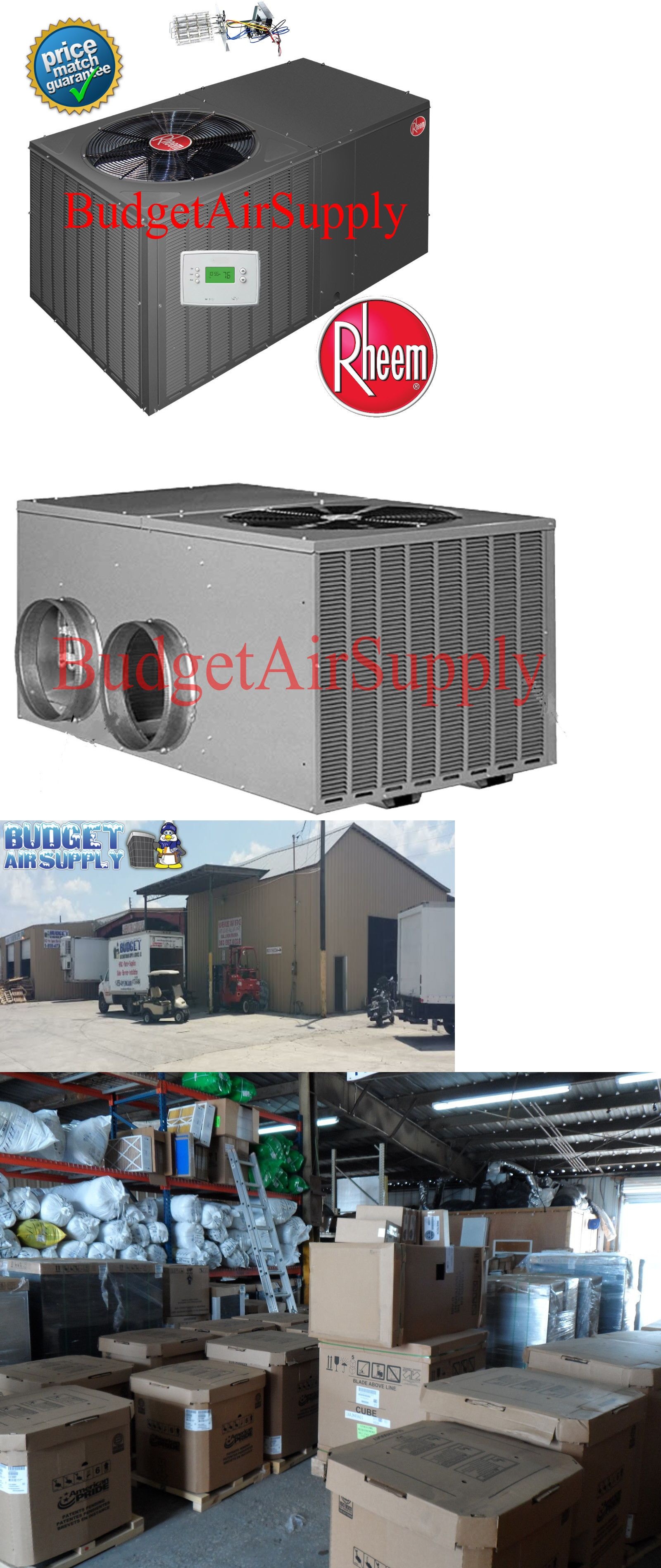 Central Air Conditioners 185108 Rheem 4 Ton 14 Seer R410