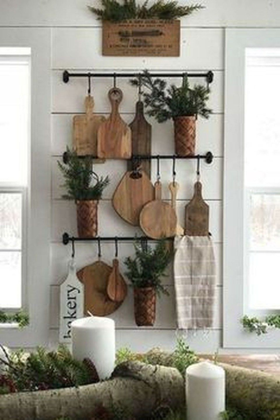 30 Stunning Traditional Farmhouse Decor Ideas For Your ... on Traditional Kitchen Wall Decor  id=40598