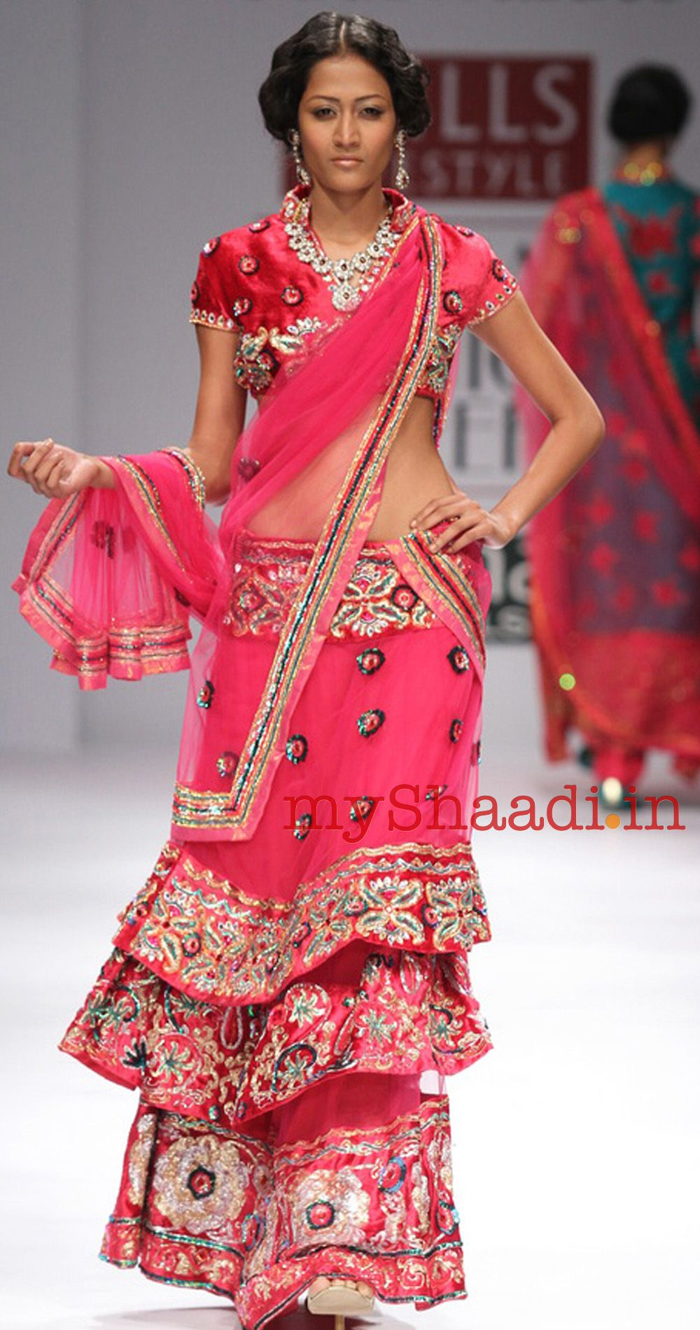 myShaadi.in > Indian Bridal Wear by Abdul Halder | indian dress ...