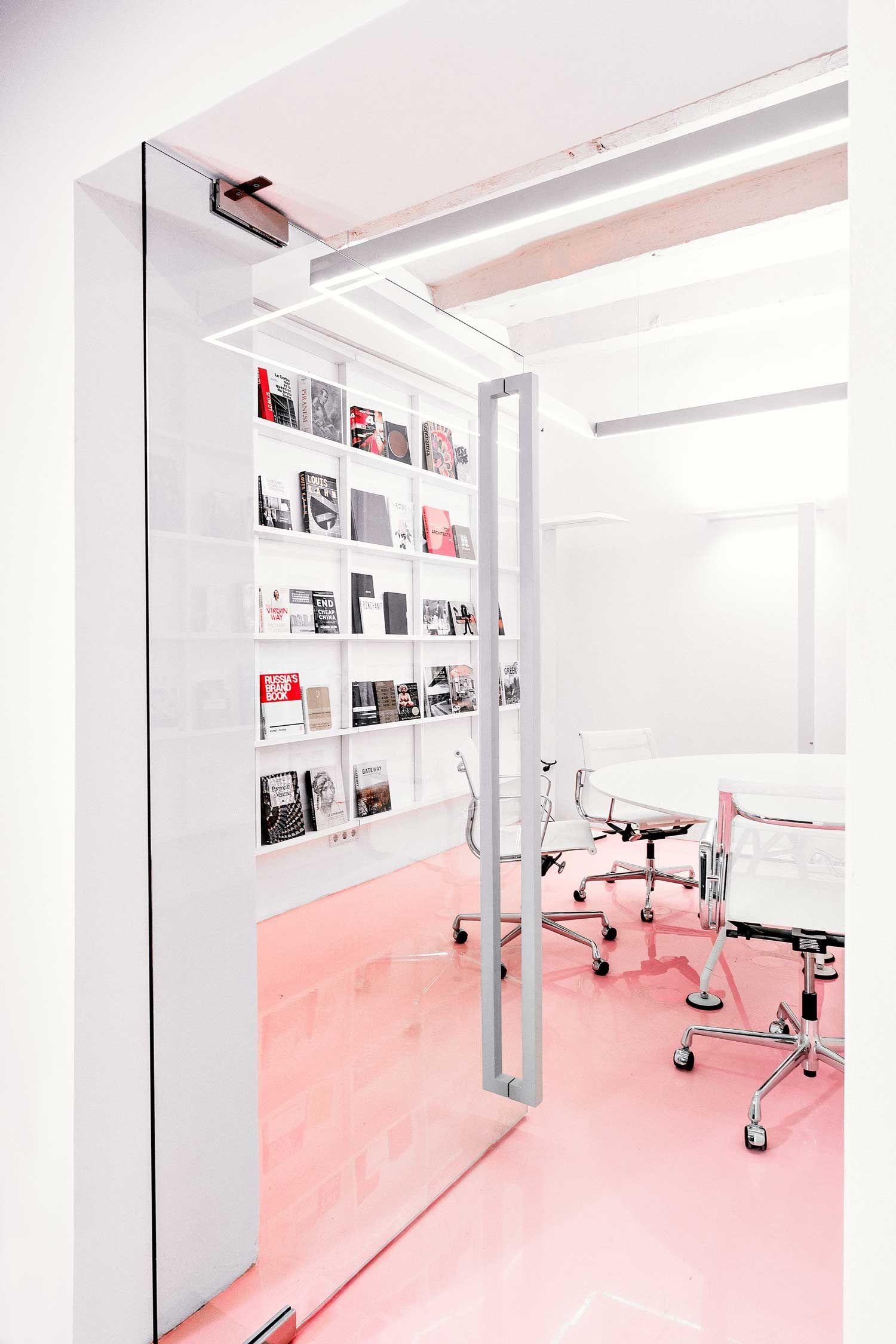 NGRS Recruiting Company HQ by Crosby Studios | Yellowtrace NOMOS - Tecno Aluminium group