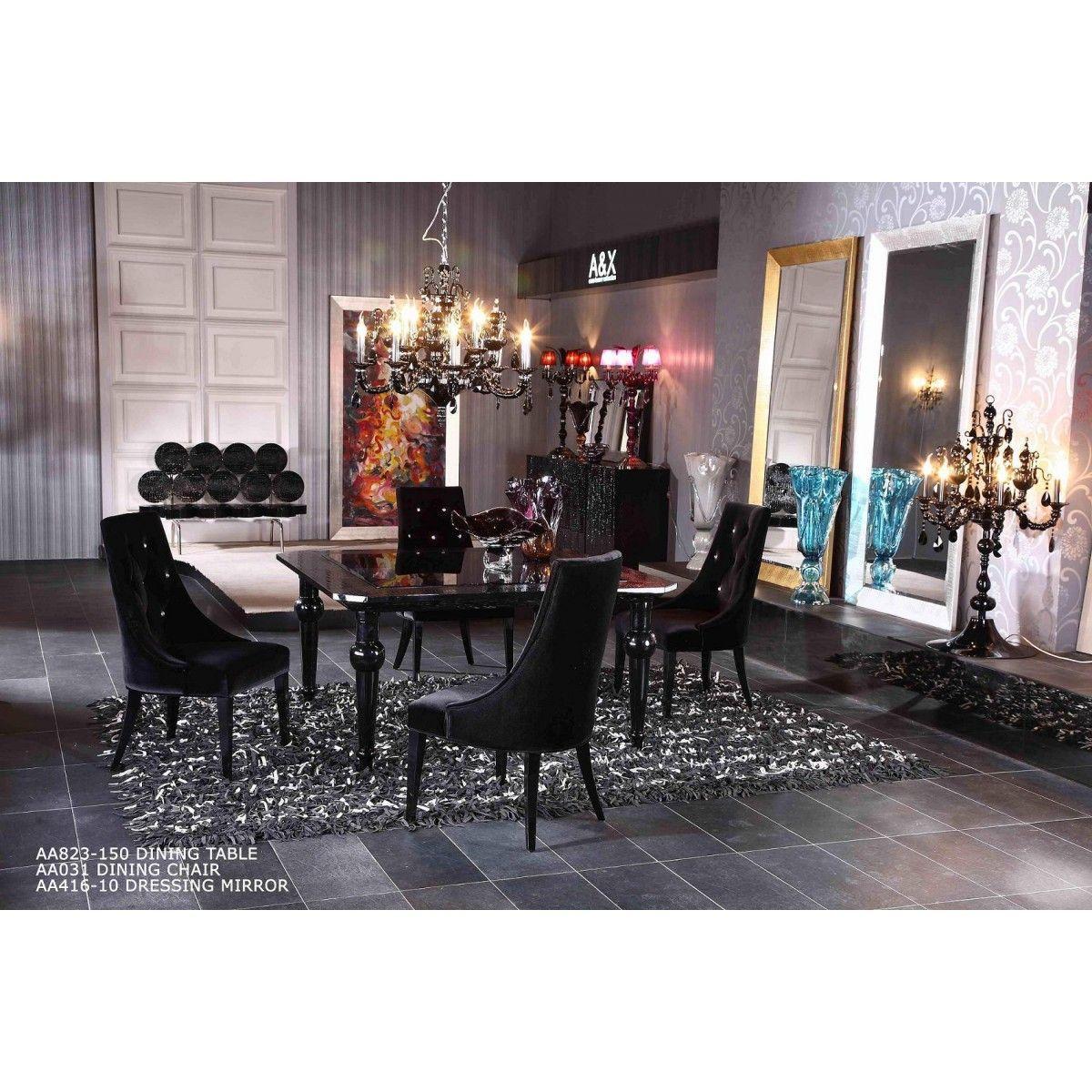 Armani Square High Gloss Table