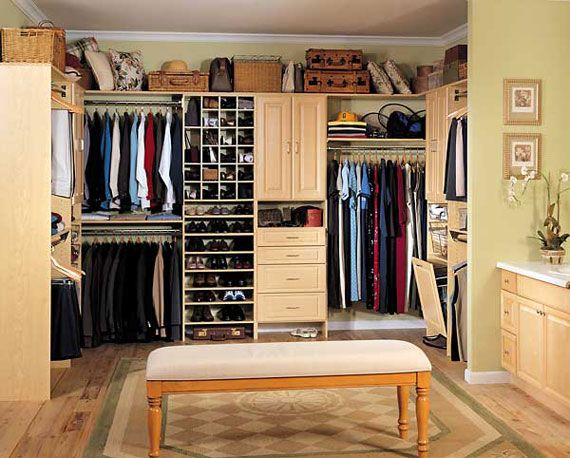 Useful Design Ideas To Organize Your Bedroom Wardrobe Closets 2