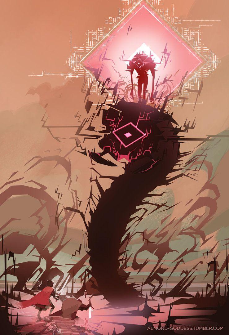 Image Result For Final Boss In Hyper Light Drifter Fantasy Art