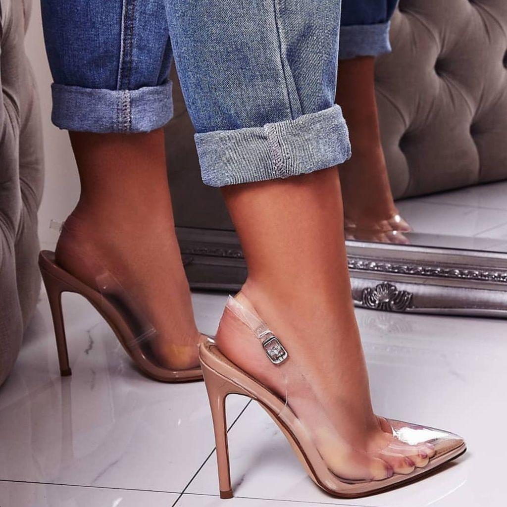 Last 10 cinderella clear pumps boutique ego shoes shoes