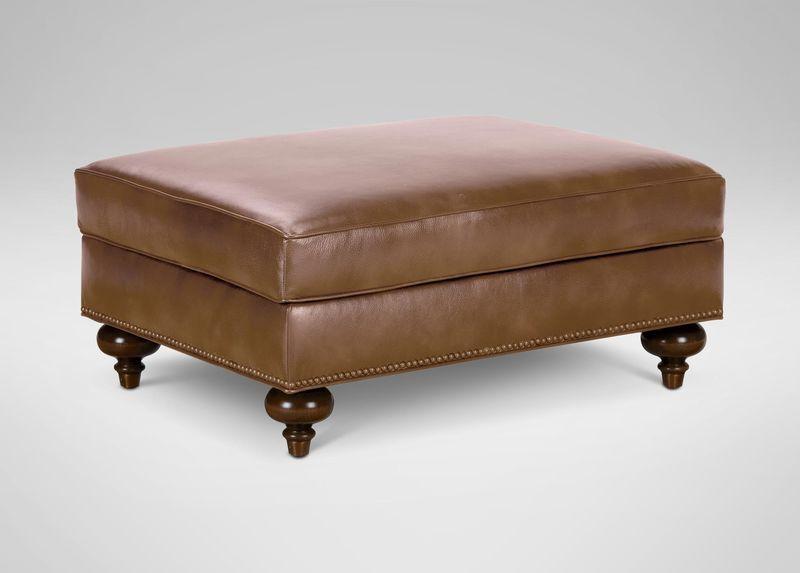 Cool Mansfield Leather Ottoman Quick Ship Leather Ottoman Uwap Interior Chair Design Uwaporg