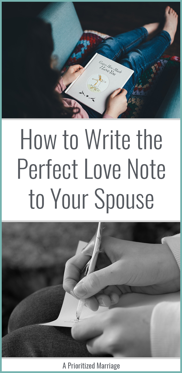 How to Write the Perfect Love Note   Writing a love letter