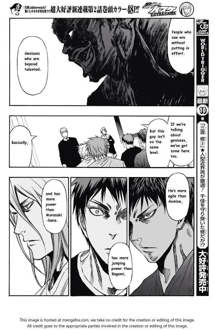 Kuroko No Basuke Extra Game 2 At Mangafox Me With Images