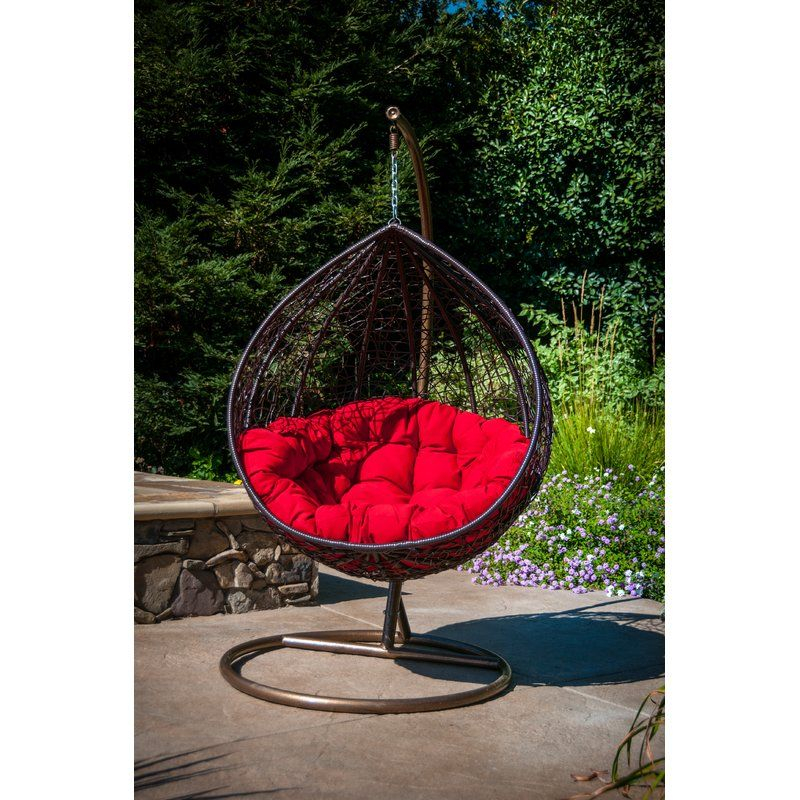 Yorba Hanging Swing Chair With Stand Swinging Chair Hanging