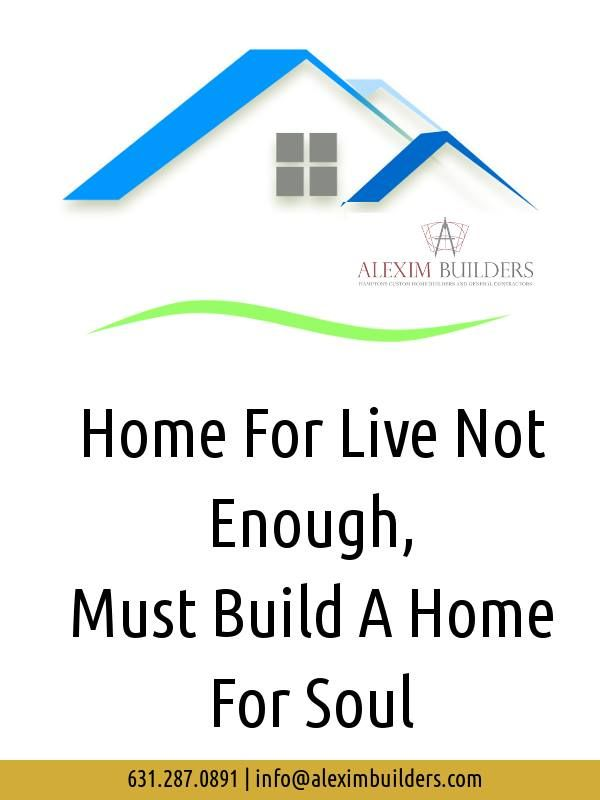 Home For Live Not Must A For