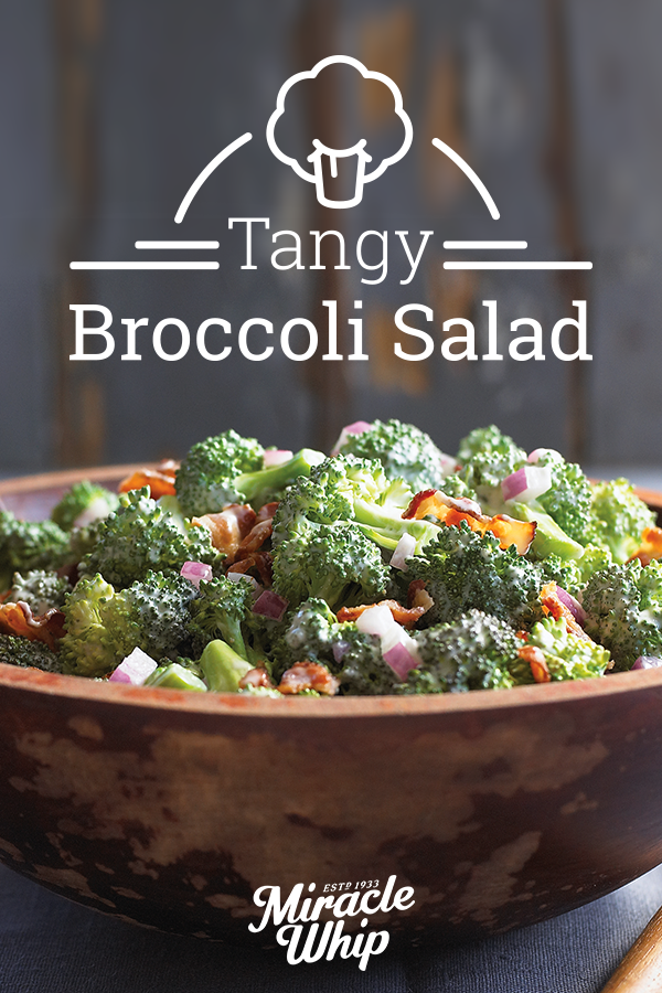 here 39 s a broccoli salad recipe that 39 s sure to please everyone with a sweet and tangy dressing. Black Bedroom Furniture Sets. Home Design Ideas