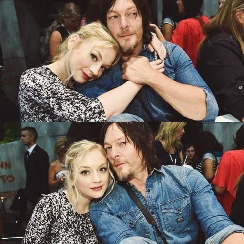 Norman Reedus & Emily Kinney - Daryl Dixon & Beth Greene , The Walking Dead at Comic Con 2014