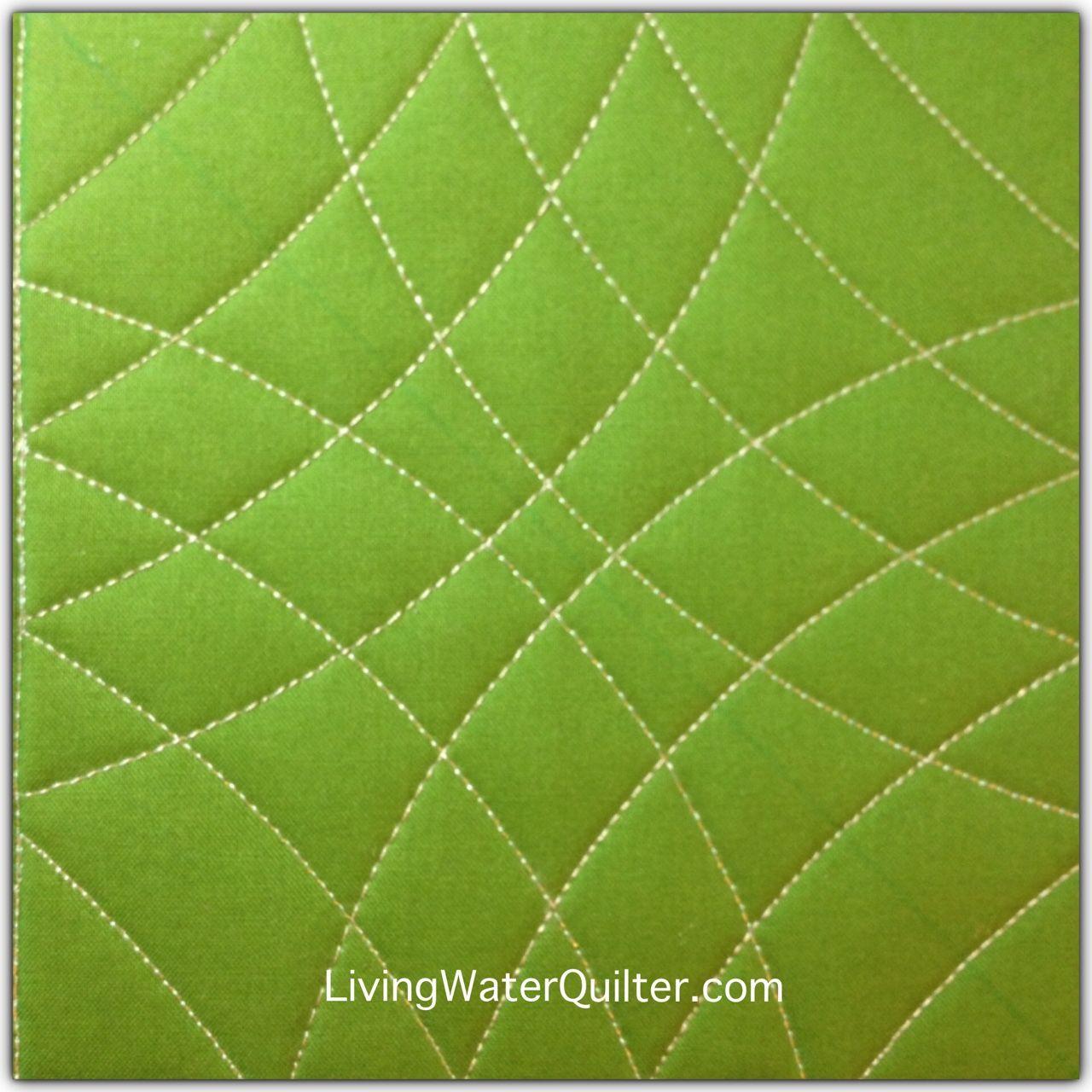 Geraldine Wilkins LivingWaterQuilter.com Ruler quilting Westalee ...