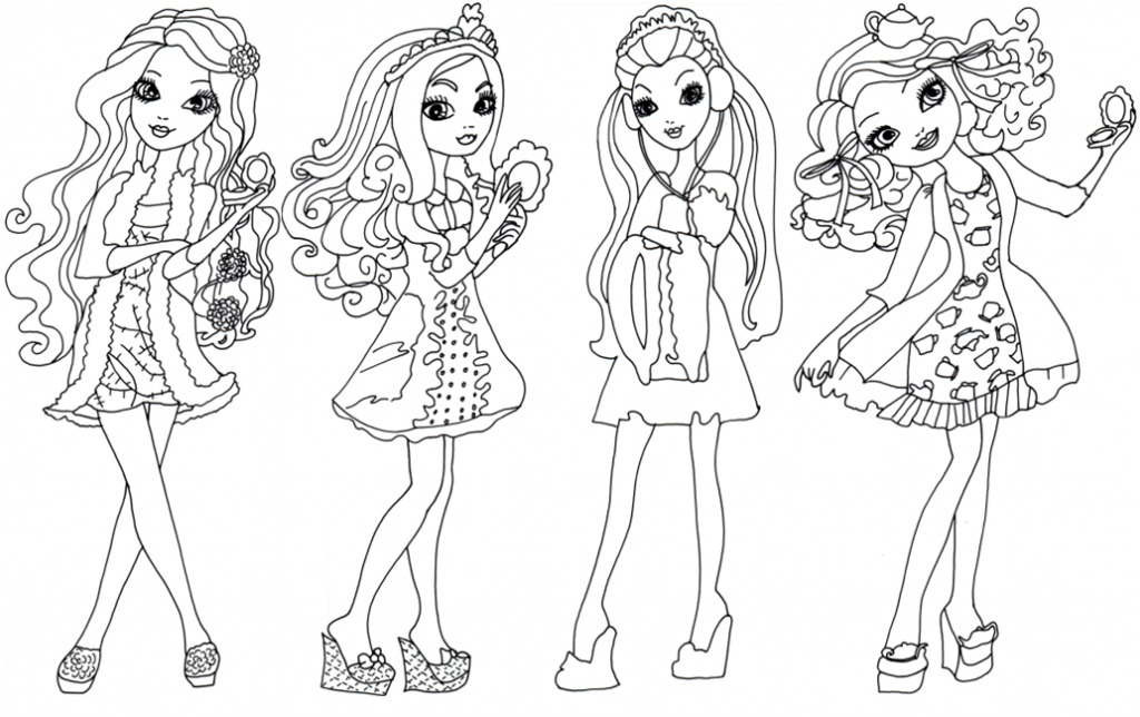 Ever After High Coloring Pages Cute Coloring Pages Coloring