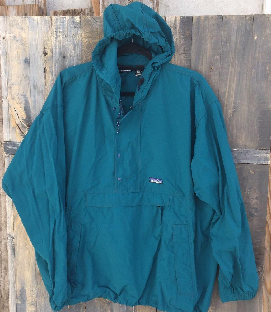 Vintage PATAGONIA Mens Jacket Outdoor Patagonia Windbreaker Men Jacket Size Large BA2olYn