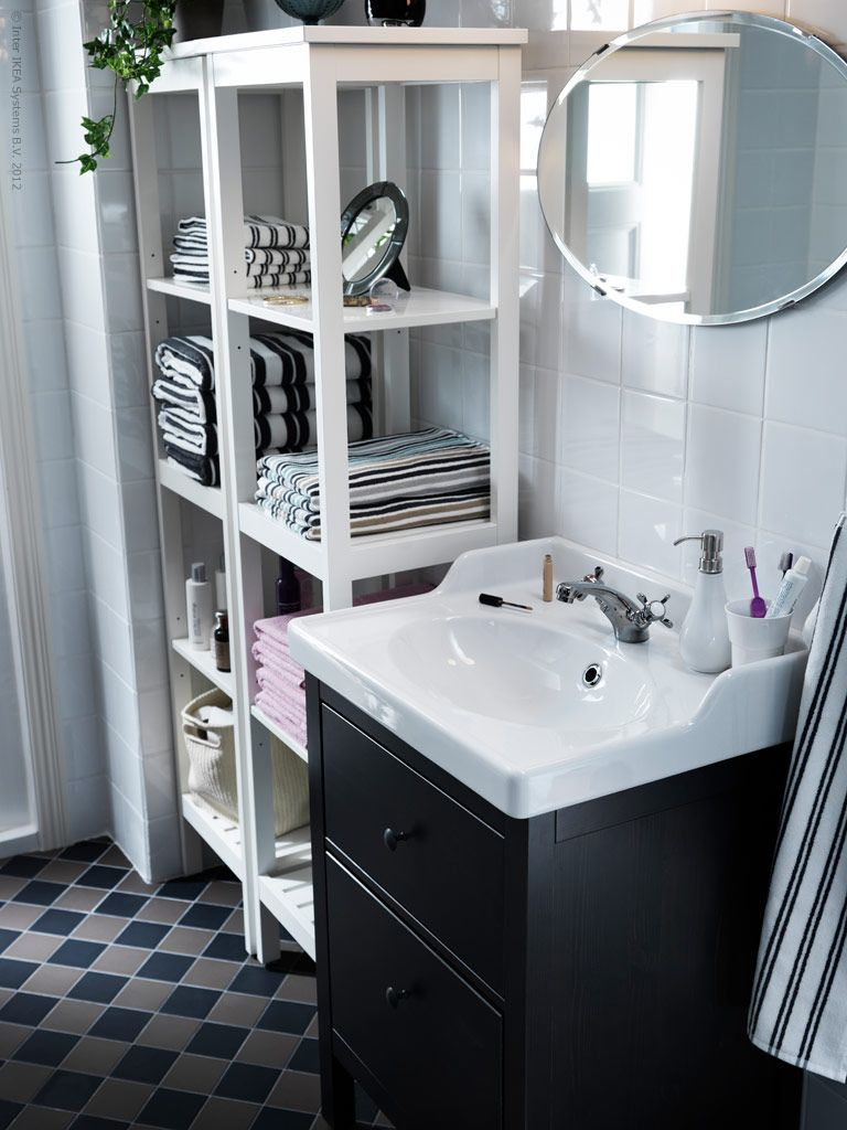 Badezimmermöbel Von Ikea Hemnes Bathroom Furniture I Need This Shelf In The Upstairs