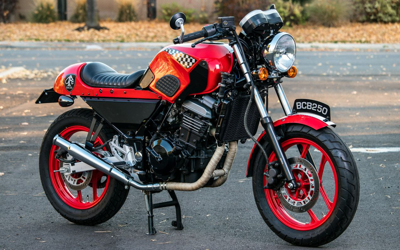 Kawasaki Ninja 250 1 With Images Cafe Racer Kits Kawasaki
