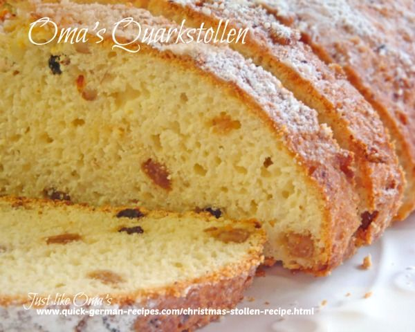 ❤ Christmas Stollen Recipe made Just like Oma ✓ # desserts
