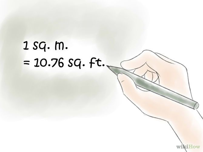 How To Convert Square Meters To Square Feet And Vice Versa Square Feet Metric System Of Measurement Converter