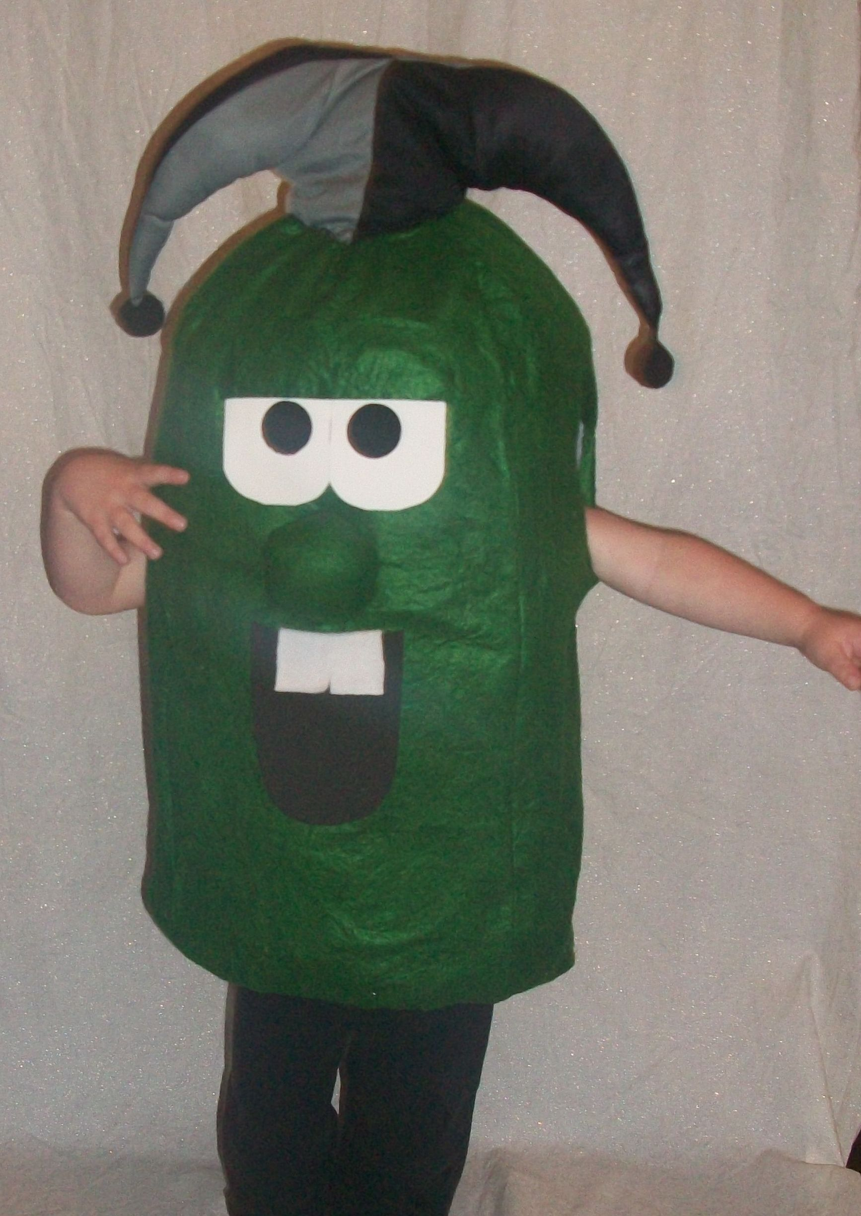 Larry the cucumber- Veggie Tales. Halloween Costume. | My Homemade ...