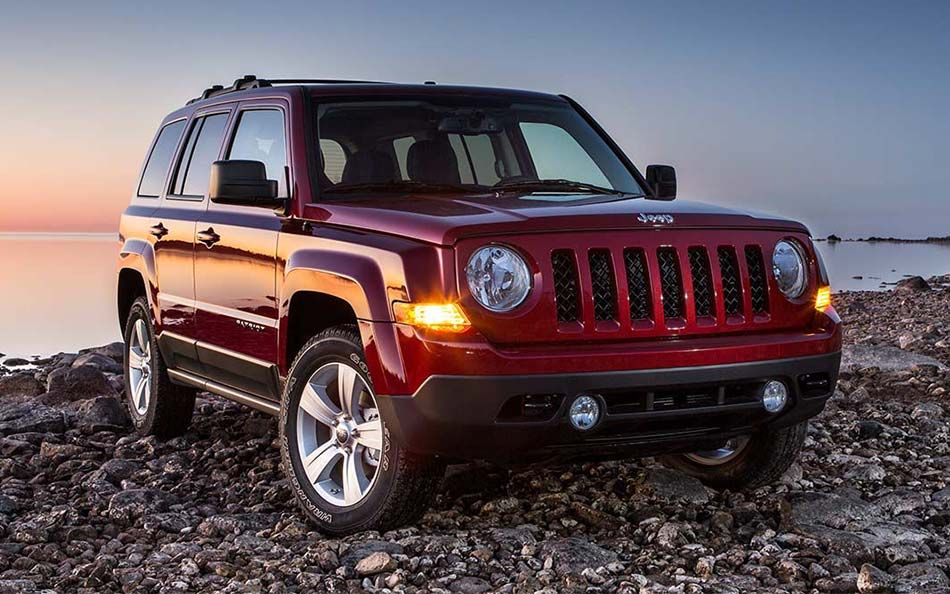 2015 Jeep Patriot Exterior What a cool shot of the New