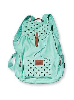 Victoria's Secret studded backpack | Mochilas ala moda