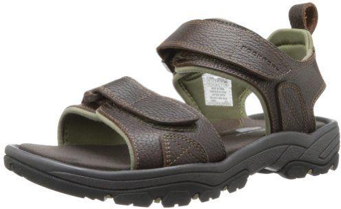 Rockport Men's Rocklake Backstrap Sandal,Brown/Brown,11 ...