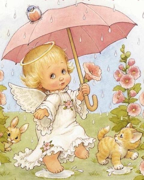 ангел под зонтом картинки вакансии ломбарде прямых