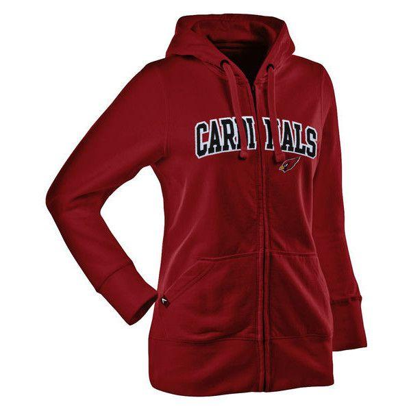 Antigua Arizona Cardinals Women's Signature Full Zip Hoodie  free shipping