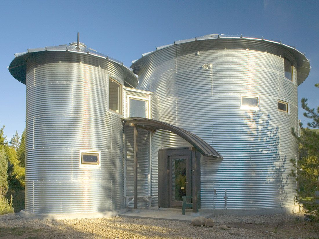 Design Silo House grain silo house pictures silos 4 unusual homes 4