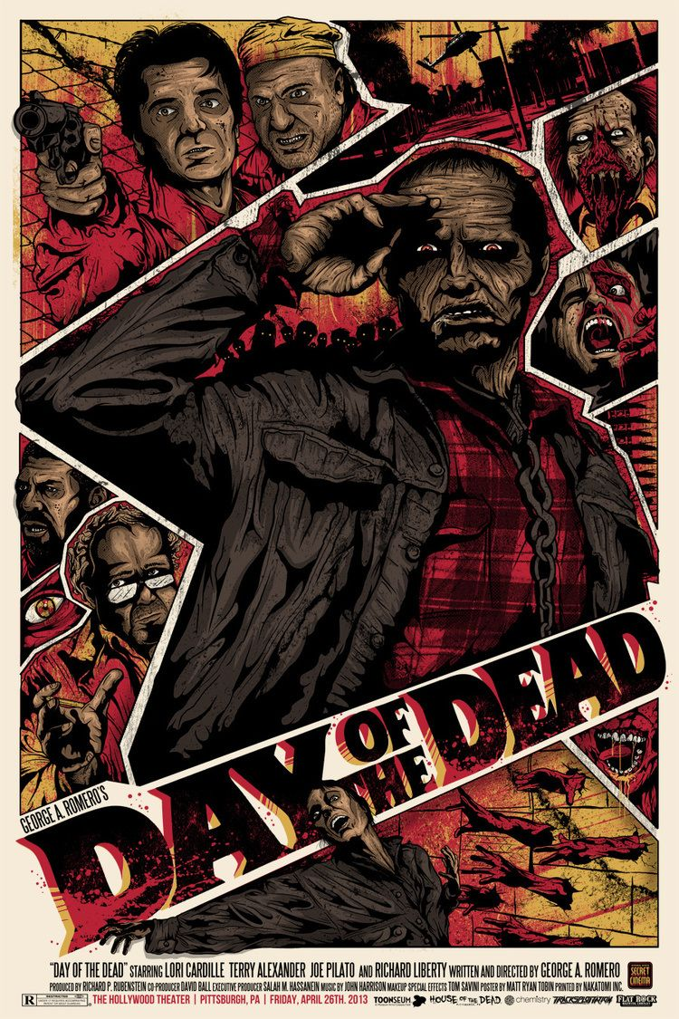 Day of the Dead Classic horror movies posters, Horror